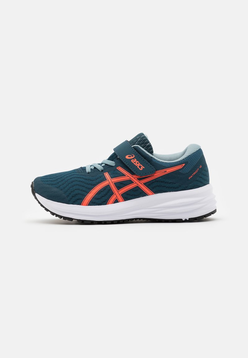 ASICS - PATRIOT 12 UNISEX - Neutral running shoes - magnetic blue/sunrise red