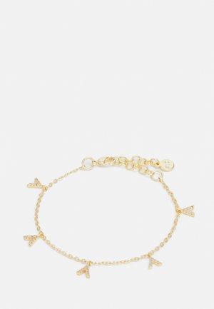 HANNI CHARM BRACE CLEAR - Rannekoru - gold-coloured