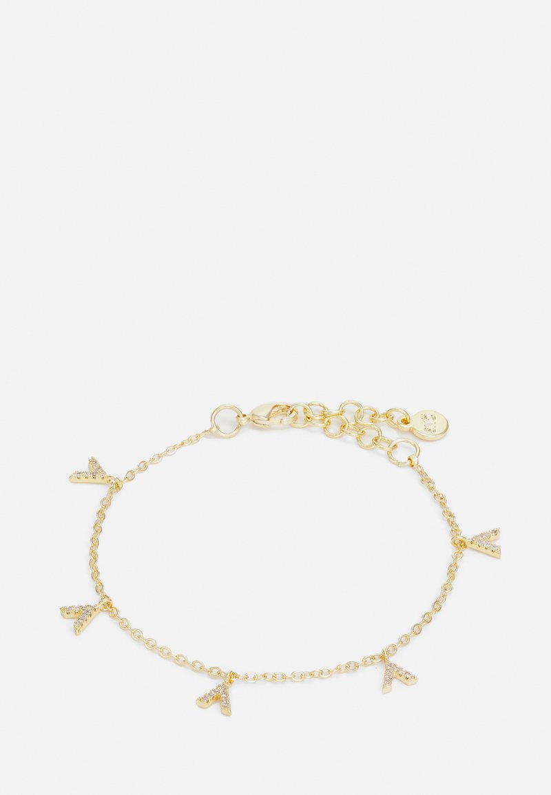 SNÖ of Sweden - HANNI CHARM BRACE CLEAR - Bracelet - gold-coloured