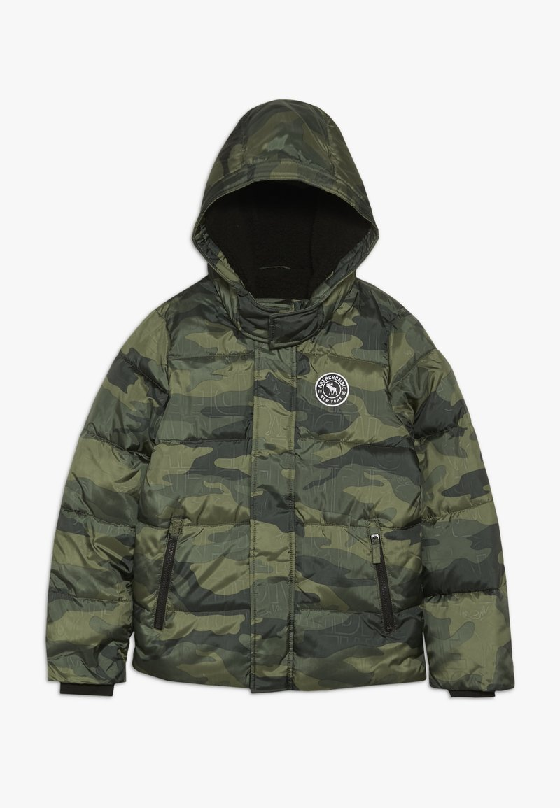 Abercrombie & Fitch - ESSENTIAL PUFFER - Winter jacket - khaki