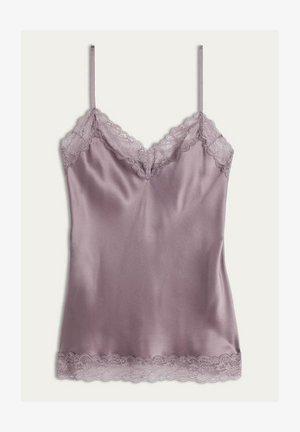 Pyjama top - violett soft mauve