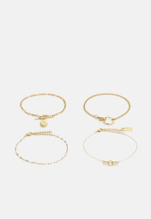 4 PACK - Bracelet - gold-coloured