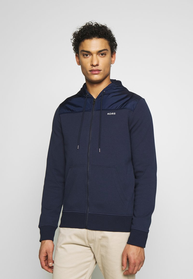Michael Kors - LOGO  - Zip-up hoodie - midnight