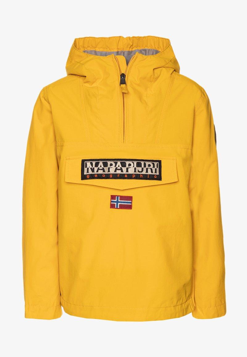 Napapijri - RAINFOREST SUMMER - Waterproof jacket - mango yellow