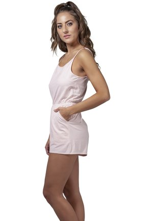 LADIES SHORT SPAGHETTI - Jumpsuit - pink