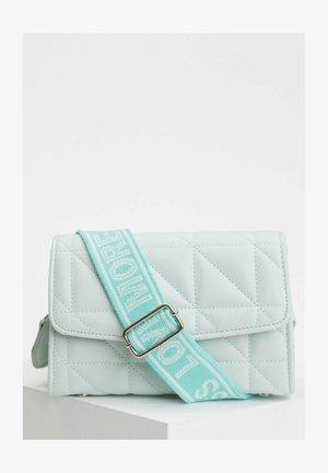 Across body bag - turquoise