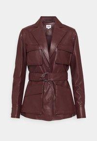Twist & Tango - CECILIA JACKET - Faux leather jacket - reddish brown - 5