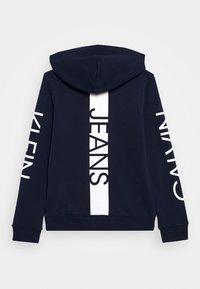 Calvin Klein Jeans - HERO LOGO ZIP HOODIE - Mikina skapucí - blue - 1
