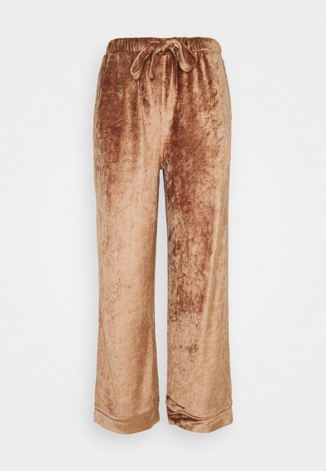 SOPHIE PANT - Pantaloni del pigiama - clay