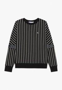 Calvin Klein Jeans - STRIPE LOGO TAPE - Sweatshirt - black - 0