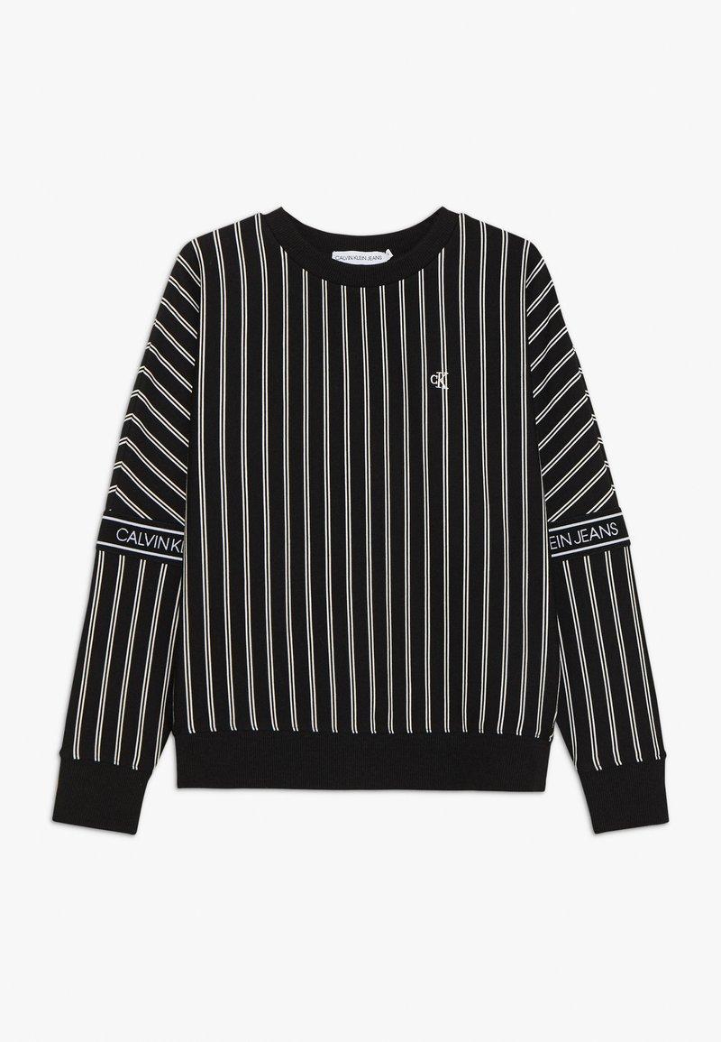 Calvin Klein Jeans - STRIPE LOGO TAPE - Sweatshirt - black