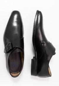Giorgio 1958 - Elegantní nazouvací boty - scandicci nero - 1