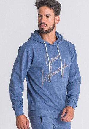 Jersey con capucha - heather blue