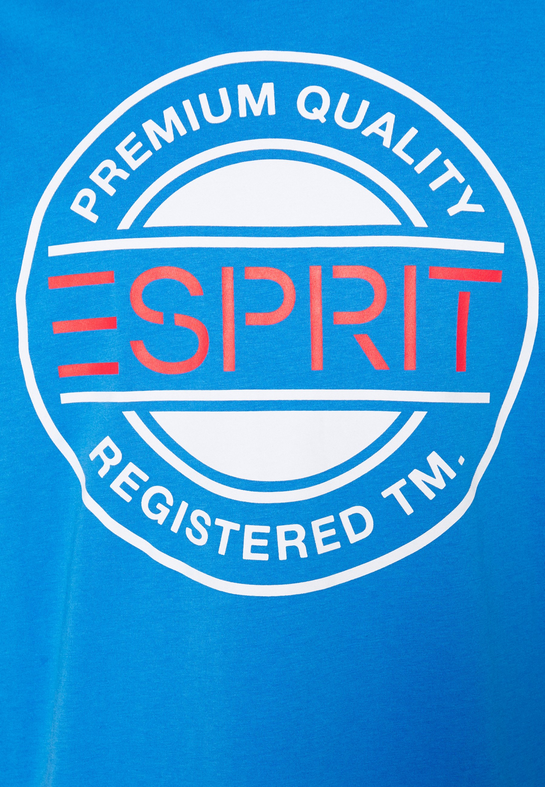 Esprit Print T-shirt - bright blue 0WU9N