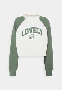 Baseball Printed Sweatshirt - Sweatshirt - off white