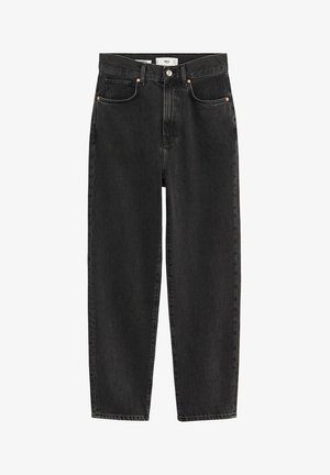 VERONICA - Jean droit - black denim