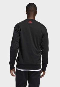 adidas Performance - HARDEN FLEECE CREW SWEATSHIRT - Sweater - black - 1
