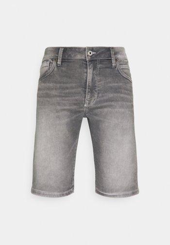STANLEY  - Denim shorts - grey denim
