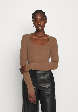 LONGSLEEVE - Long sleeved top - brown