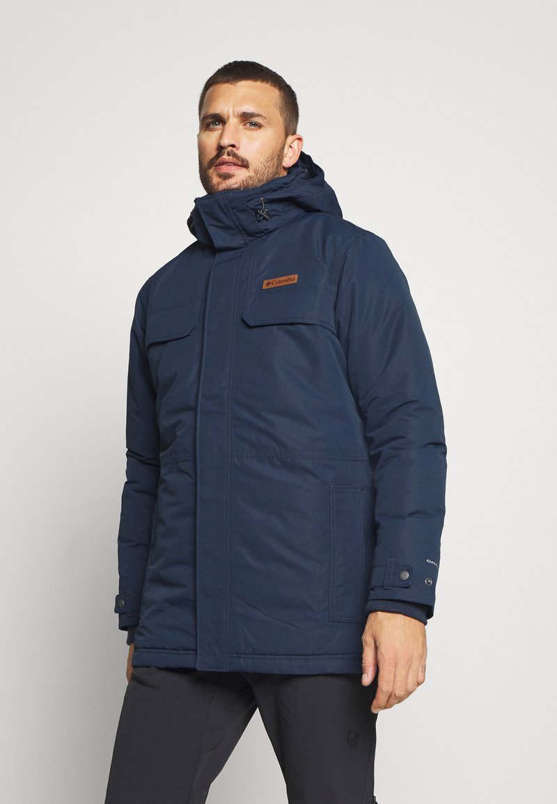 Columbia - RUGGED PATH - Parka - collegiate navy