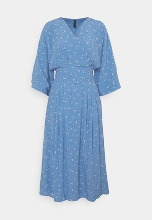 YASESLA MIDI DRESS - Robe d'été - silver lake blue/esla