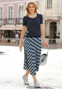 Laura Kent - A-line skirt - marineblau - 1