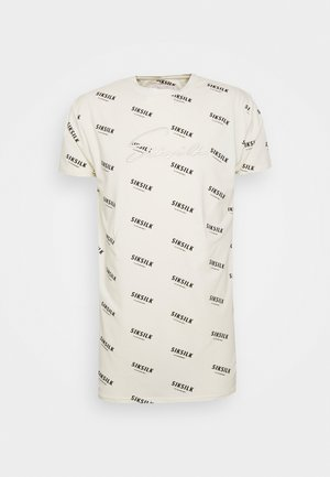 REPEAT BOX TEE - T-shirt con stampa - off-white