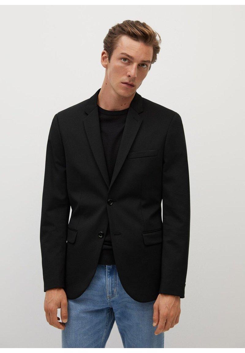 Mango - Blazer jacket - noir
