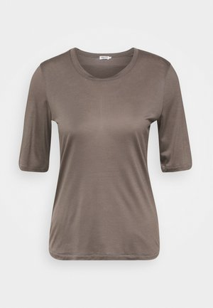 ELENA TEE - Basic T-shirt - dark taupe