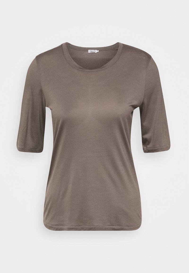 Filippa K - ELENA  TEE - T-shirt basic - dark taupe
