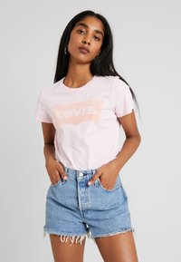 Levi's® - THE PERFECT TEE - Print T-shirt - flock pink lady - 0