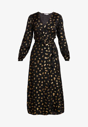 NATASJA FOIL DRESS - Robe de cocktail - black/gold