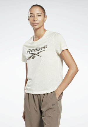 MODERN SAFARI WORKOUT READY - Camiseta estampada - white