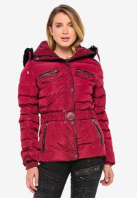 Cipo & Baxx - Winter jacket - burgundy - 0