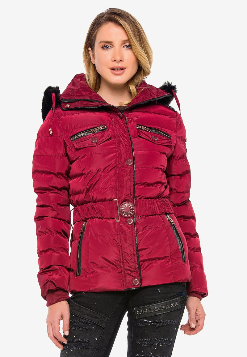 Cipo & Baxx - Winter jacket - burgundy