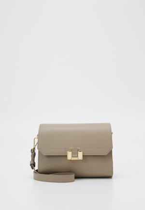 LILIA TABLET MINI - Across body bag - taupe