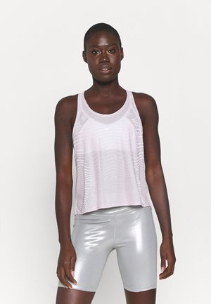 TANK - Sports shirt - iced lilac/white