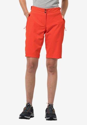 Sports shorts - dark coral
