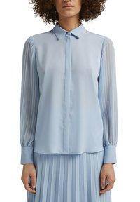 Esprit Collection - Button-down blouse - pastel blue - 3