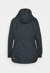 Ragwear Plus - DANKA DOTS - Short coat - navy - 7