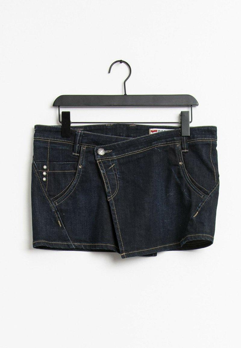 GAS - Jupe en jean - blue