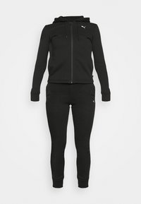 CLASSIC HOODED SUIT - Tracksuit - black