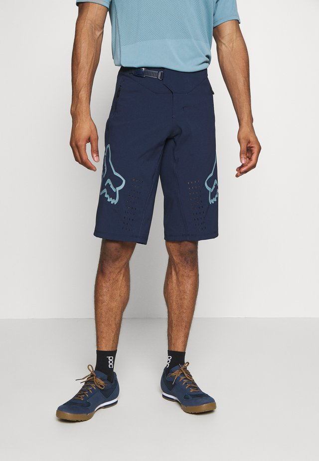 DEFEND - Outdoorshorts - navy