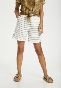Cream - CRFIA SWEAT - Shorts - timber stripe - 0