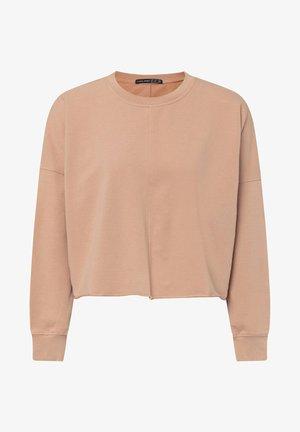 CROPPED - Sweatshirt - coral