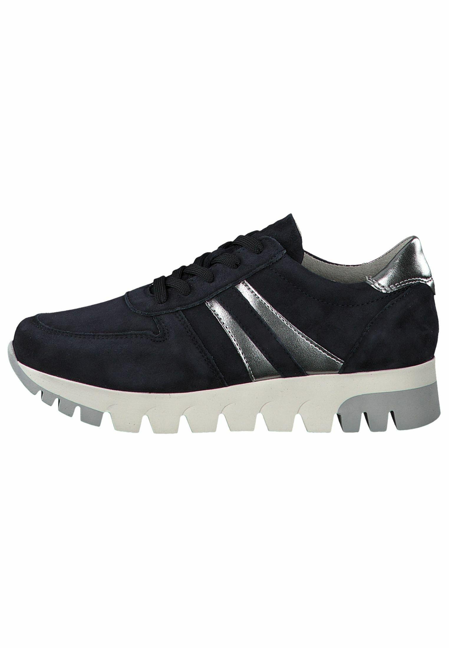 Tamaris Lace Up - Sneaker Low Cognac/croco/braun
