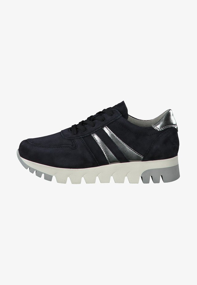 LACE UP - Zapatillas - navy/pewter