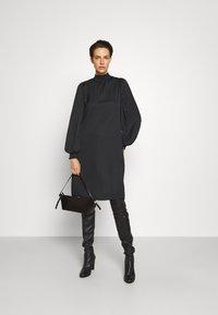 Bruuns Bazaar - PRICKLY METTE DRESS - Day dress - black - 1