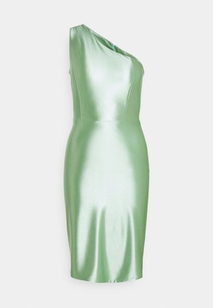 SKYLER ONE SHOULDER MID DRESS - Cocktailjurk - mint green