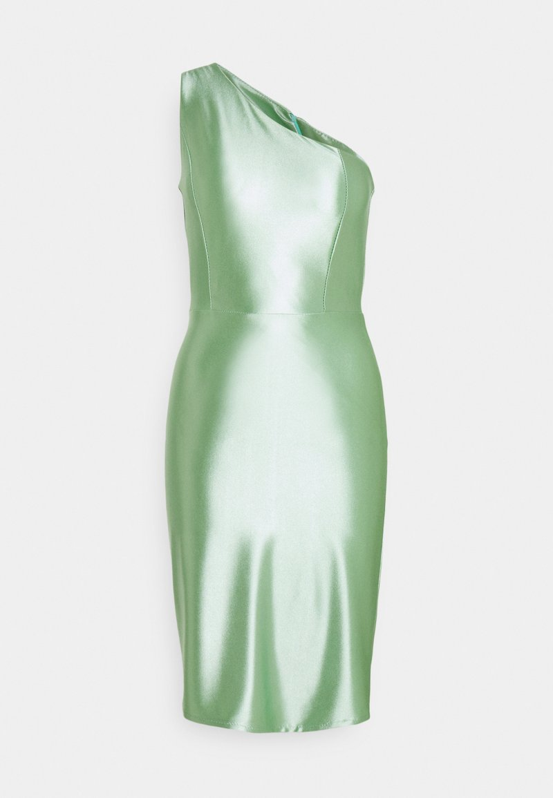 WAL G. - SKYLER ONE SHOULDER MID DRESS - Cocktail dress / Party dress - mint green